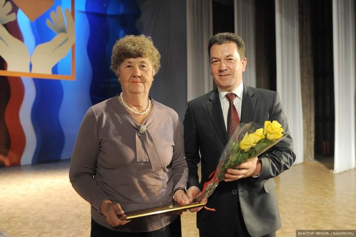Ветеранов Бийска поздравили с Днем пожилого человека