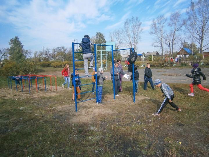В школе № 7 состоялось открытие новой спортивной площадки