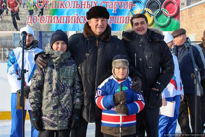 Наш город посетил знаменитый хоккеист Владислав Третьяк